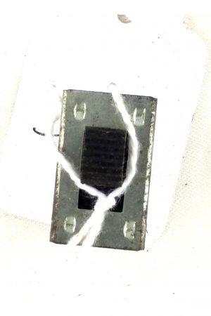 interrupteur à glissière