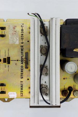 Ampli stereo amplifier 6 07438 c2